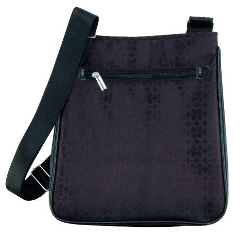 Trend Lab Brocade Day Bag Diaper Satchel, Black