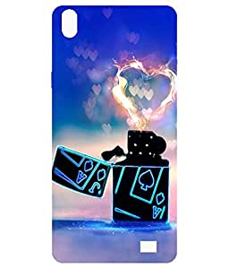 Mintzz Printed Back Cover For Reliance Lyf Water 6