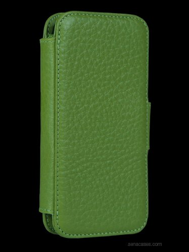 Great Price Sena WalletBook for iPhone 5 - Green - 826810