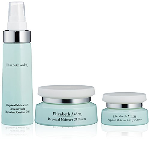 Elizabeth Arden Perpetual Moisture Lotion 50 ml 24 a 50 ml di panna, più 15 ml Eye Cream Set regalo per voi, 1er Pack (1 x 50 ml)
