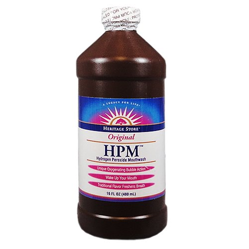 Heritage Store Hydrogen Peroxide Mouthwash 473 ml
