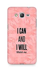AMEZ i can and i will watch me Back Cover For Samsung Galaxy Grand Prime