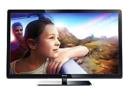 Philips 47PFL3007H/12 119 cm (47 Zoll) LCD-Fernseher, Energieeffizienzklasse B (Full-HD, 100Hz PMR, DVB-T/C, CI+) schwarz ab 499,99 Euro inkl. Versand