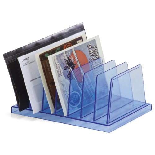 Officemateoic Blue Glacier Standard Sorter 7 Compartments