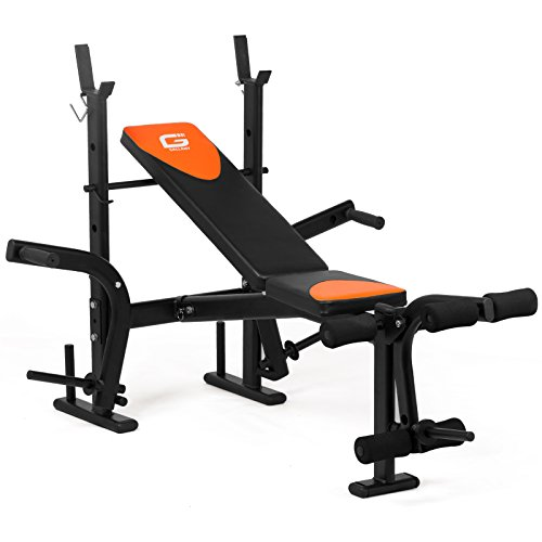 gallant-weight-utility-bench-flat-incline-decline-adjustable-barbell-abs-crunch-3-in-1-bench