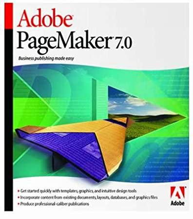 Adobe PageMaker 7.0 Upgrade [Old Version]