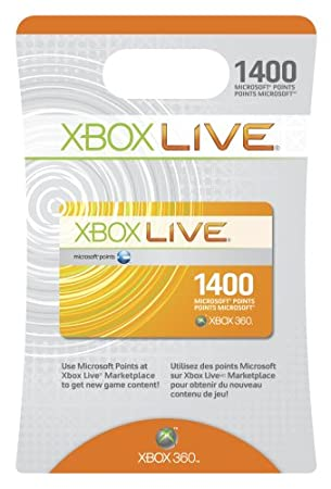 1400 Microsoft Points Valid in Canada Only!