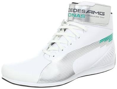 .com: PUMA Men's Evospeed Mid MAMGP NM Fashion Sneaker, White/Puma