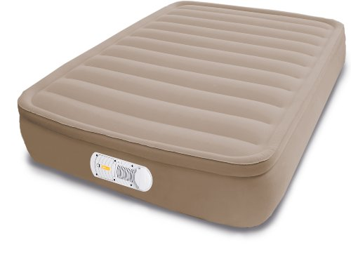 AeroBed Elevated Home and Camp Bed with Built-In Extra-Life Pump, Queen
