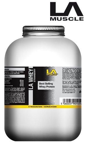 LA Whey Vanilla 2.2kg - 100% Premium Whey Protein
