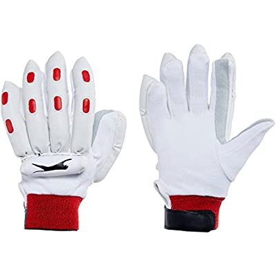 Slazenger Academy LH Batting Glove, Boys (White)
