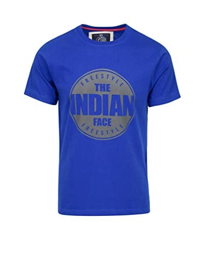 THE INDIAN FACE Camiseta Manga Corta Azul Royal