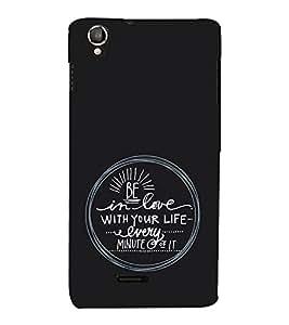 EPICCASE Be in Love Mobile Back Case Cover For Lava Iris X800 / Lava Iris X800 (Designer Case)