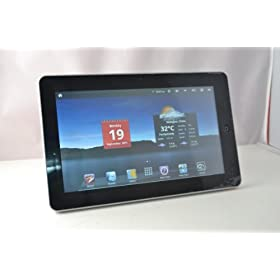 Alf Pad 16GB, 10.2 inch Resistive Android 2.3 Tablet PC, WiFi, RJ045, external 3G, GPS, 1080 P video out, Camera, 1.0 GHz CPU/512MB/8GB