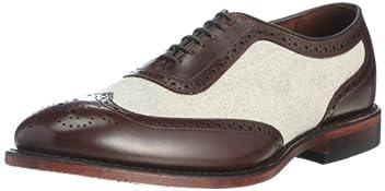 Strawfut: Brown Calf / Linen 5505