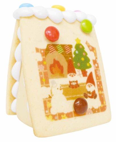 自由にデコレーション 食べられる お菓子の家 キット Sサイズ 型 セット クリスマスツリー ホームパーティークリスマスプレゼント クリスマスケーキ
