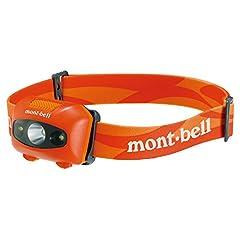 モンベル(mont-bell) ヘッドランプ パワーヘッドランプ バーントオレンジ 1124586-BTOG