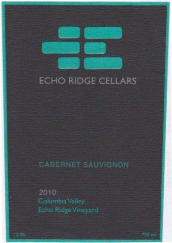2010 Echo Ridge Cellars Columbia Valley Cabernet Sauvignon 750 Ml