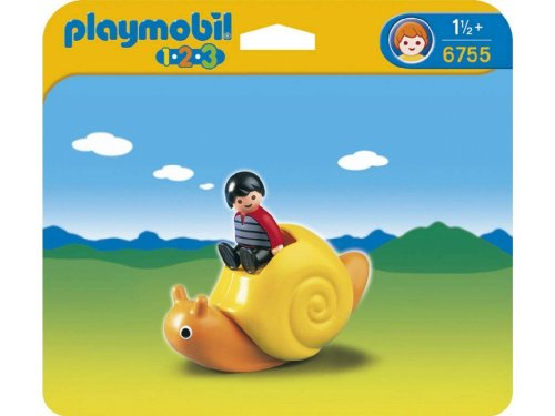 Playmobil 1.2.3 Rocking Snail