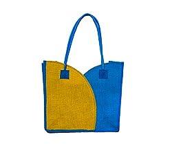 The Rogue Studio Women's Jute Multi-Colour Bag (Tiyebl01)