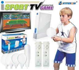 Tv Isports Interactive System W/6 Games front-1040369