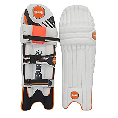 Burn LE-8000 Right Hand Batting Leg Guards-Mens