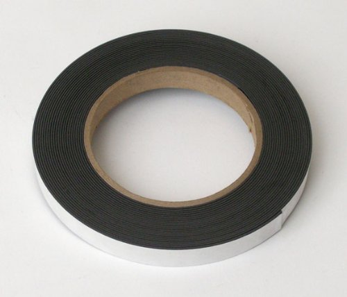 Storesmart® - Magnetic Tape Roll - Peel & Stick Backing - 1/2 Inch X 25 Feet - Magstb-25Ft front-270503