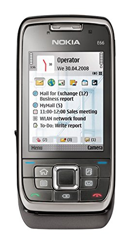 mobile phone Nokia E71 grey steel without branding Black Friday & Cyber Monday 2014