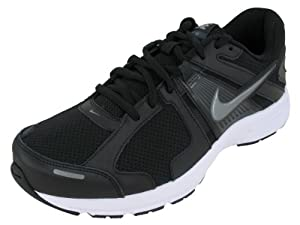Nike Dart 10 Men's Running Shoe (8.5 4E US, BLACK/ANTHRACITE/WHITE/MTLC COOL GREY)