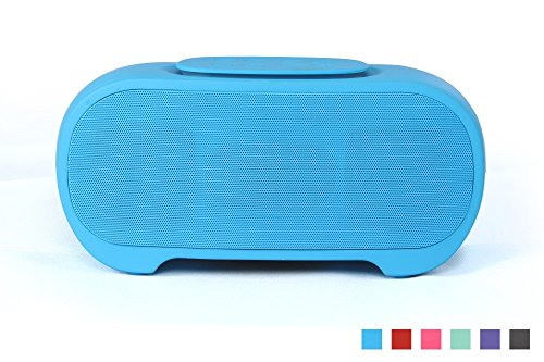 YunMei with USB port Portable Stereo Bluetooth Speaker Bluetooth-Telefon desktop stereo Bluetooth speaker 36w support SD card BB331-Blue