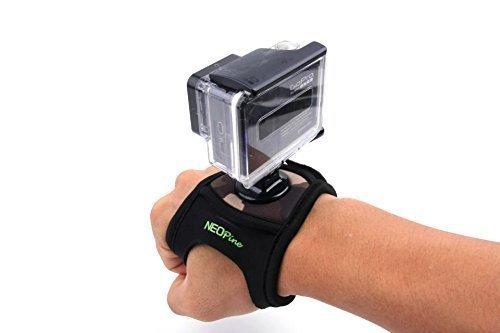 Mondpalast-Glove-style-Elastic-Fahrrad-Velcro-Wrist-Strap-Band-Hand-Arm-Mount-Halterung-fr-Gopro-Hero-1-2-3-3-Sport-Kamera