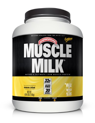 Christmas CytoSport Muscle Milk, Banana Creme 4.94 Pound Deals