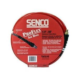 Senco PC1150 1/4-Inch by 50-foot Proflex Air Hose with 1/4 Plug & Coupler