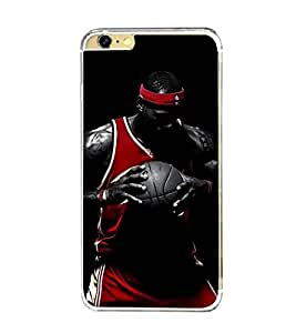 Printvisa Basketball Player In Action Back Case Cover for Apple iPhone 6 Plus::Apple iPhone 6S Plus