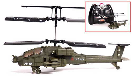 Aircraft Tool Supply Apache Micro Rc Helicopter