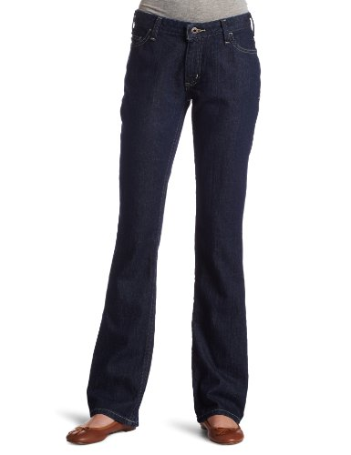 Carhartt Women'S Curvy Fit Basic Jean Bootcut, Dark Night Blue, 2 X 30