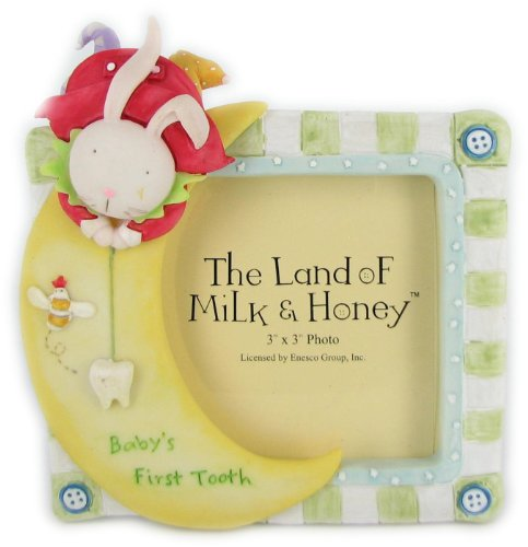 The Land of Milk & Honey 'Baby's First Tooth' Frame by Enesco