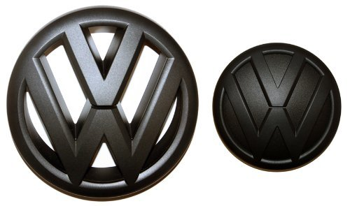 Black Front Grille & Rear Trunk Emblem Combo for Mk6 2012 VW Jetta Sedan, Model: , Car & Vehicle Accessories / Parts (Vw Emblem Jetta Mk6 compare prices)