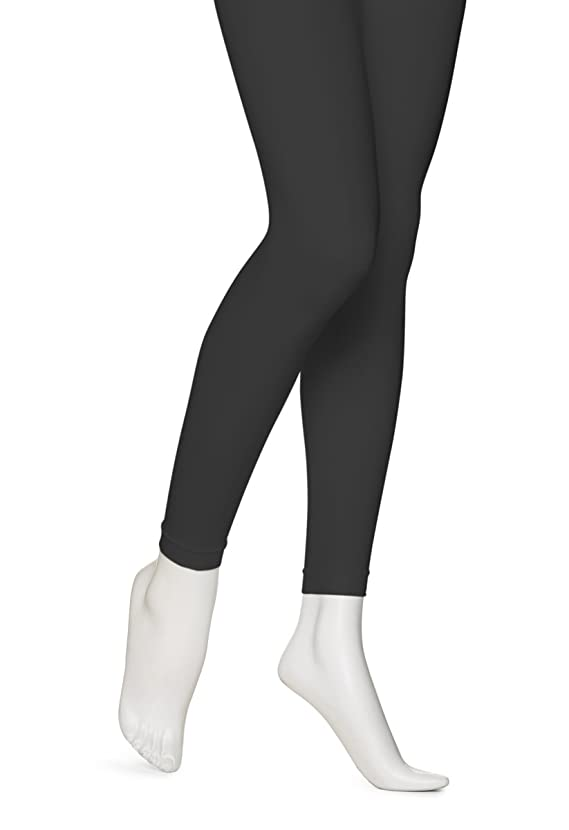 Super Opaque Footless Control Top Tights