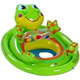 New Intex Inflatable See Me Sit Pool Ride For Age 3 4 Frog Green