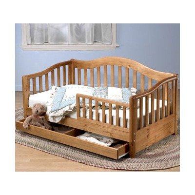 Black Friday Sorelle Grande Solid Pine Toddler Bed In