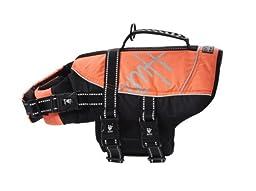 Hurtta Pet Collection Life Jacket, 10-20-Pound, 14-19-Inch Neck, 18-24-Inch Chest, Orange