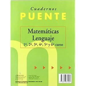 Cuaderno De Lenguaje. Puente 5º Curso De Primaria