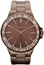 Hot Sale Michael Kors Gramercy Espresso Glitz Watch MK5724