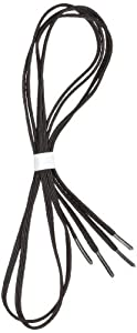 "Perma-Ty 738140030 30"" Black Elastic Shoelaces (Pack of 3 Pairs)"