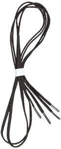 """Perma-Ty 738140030 30"""" Black Elastic Shoelaces (Pack of 3 Pairs)"""