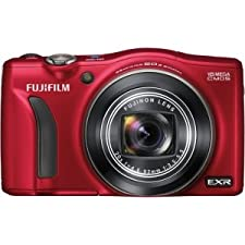 Fujifilm FinePix F750EXR Digital Camera Red