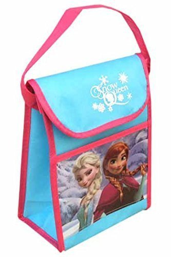 "Disney Frozen ""Snow Queen"" Non Woven Vertical Lunch Bag with Hangtag - 1"