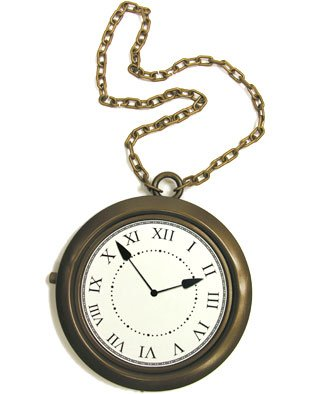 Rapper Clock Necklace