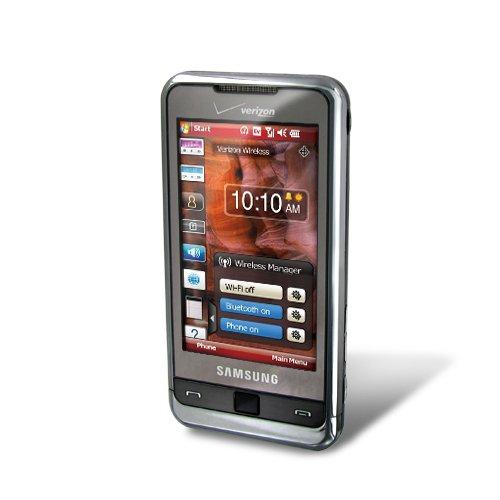 Samsung Omnia i910 Phone, Silver (Verizon Wireless)